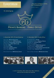 PRIVATE BANKING FAMILY OFFICE - Corporate Trust