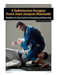 4 Submission Escapes From Jean Jacques Machado - Danny Lane ...
