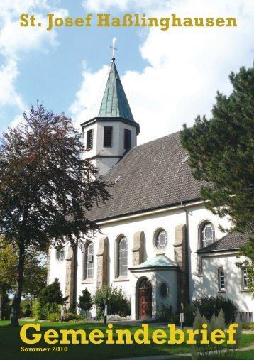 Gembr so 2010 k - St. Josef Haßlinghausen