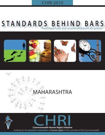 Standards Behind Bars - Commonwealth Human Rights Initiative