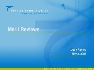 Merit Reviews