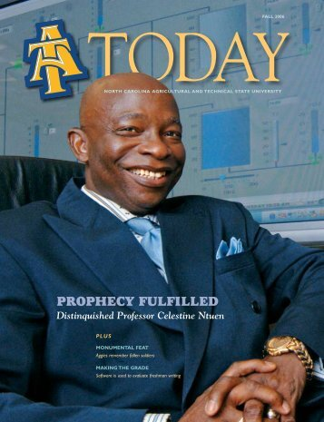 ProPhecy FulFilled - North Carolina Agricultural and Technical State ...