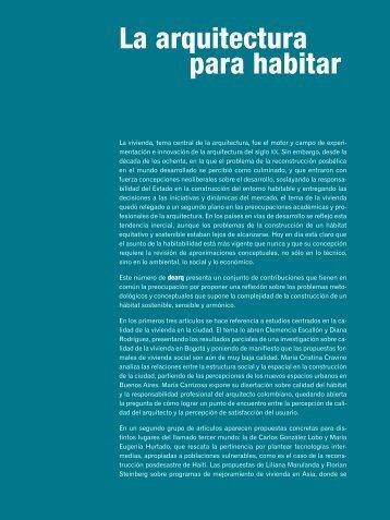 Descargar versión PDF - dearq