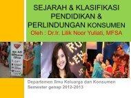 Hasil Pendidikan Konsumen - Departemen Ilmu Keluarga dan ...