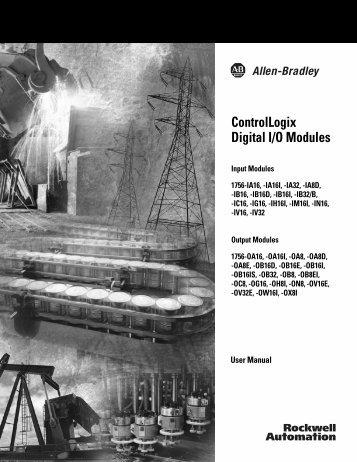 ControlLogix Digital I/O Modules