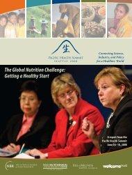2008 Pacific Health Summit Report