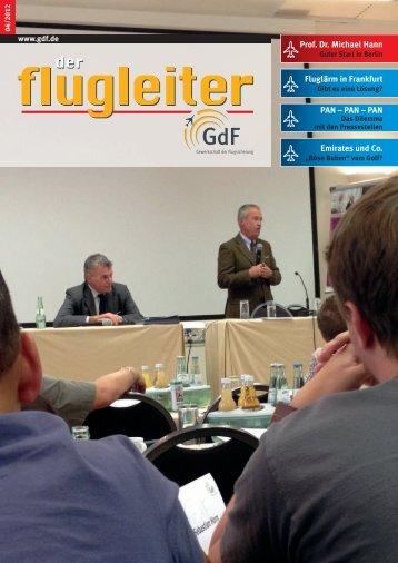 PAN – PAN – PAN Emirates und Co. Fluglärm in Frankfurt Prof. Dr ...