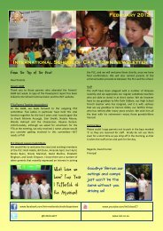 ISCT Newsletter February 2012 - International School of Cape Town