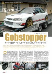 Gobstopper - veľký, tvrdý cukrík, aby boli decká ticho - AutoTuning.sk
