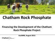 Chatham Rock Phosphate - Squarespace