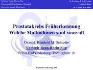 Prostatakrebs Früherkennung Welche Maßnahmen Sind Sinnvoll