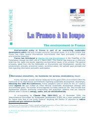 Environment in France - Consulat général de France à Hong Kong ...