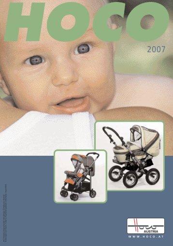 Katalog kočárky HOCO 2007 - Depemo