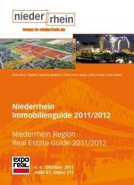 Niederrhein Immobilienguide 2011/2012 - invest-in-niederrhein.de