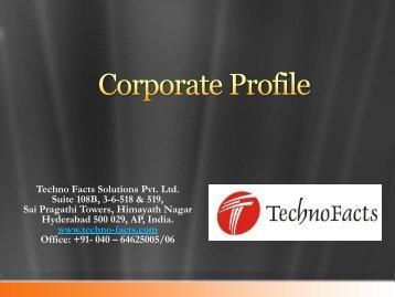 Corporate Profile - Vcsdata.com