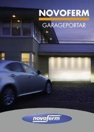 Ladda hem broschyr om garageportar - Novoferm