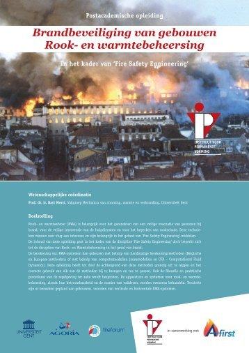 Brandbeveiliging van gebouwen Rook- en warmtebeheersing
