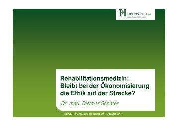 Vortrag Dr. Schäfer - Sozialarbeitertagung 2010 - HELIOS Kliniken ...