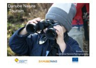 WP7 Danube Nature Tourism (642 KB) - DANUBEPARKS
