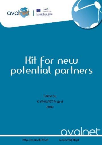Kit for new potential partner - Cecoa