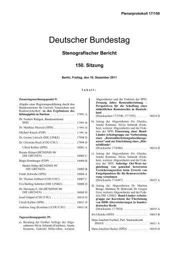 Regierungserklärung - Deutsches Klima Konsortium