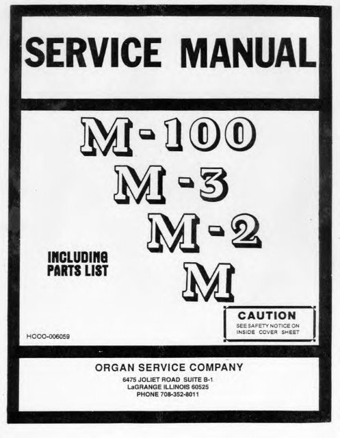 hammond speaker ground wire diagram hammond organ service manual models m m2 m3 audiofanzine  hammond organ service manual models m