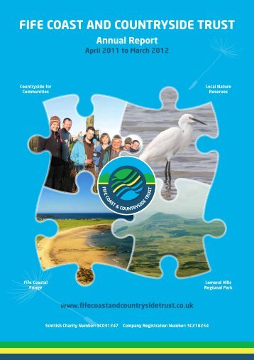 Annual Report 2011 to 2012 - Fife Coast & Countryside Trust