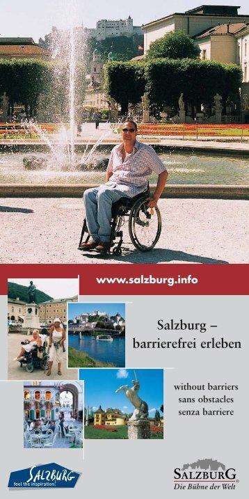 Stadt Salzburg barrierefrei erleben