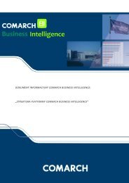 "dokument informacyjny comarch business intelligence: ""struktura ..."