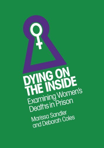 An order form to buy Dying on the Inside when paying by ... - Inquest