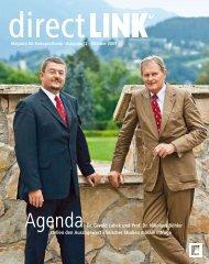 Agenda Dr. Gerold Labek und Prof. Dr. Nikolaus Böhler stellen den ...