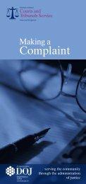 Making a Complaint
