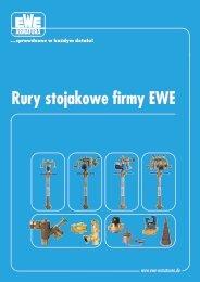Rury stojakowe firmy EWE y stojakowe firmy EWE
