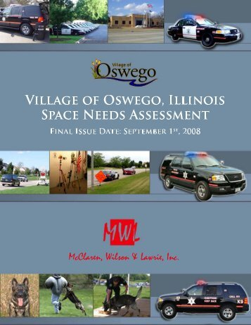 Download Space Needs Assessment - Oswego Police Department