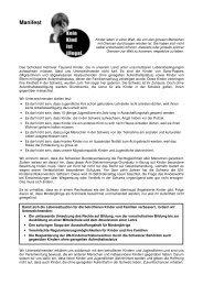 Manifest - Sans-Papiers