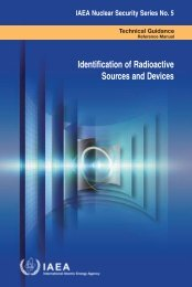 Identification of Radioactive Sources and Devices - IAEA Publications