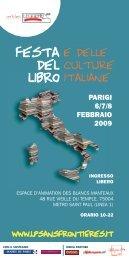 Festa del libro - Master di II livello in Traduzione di testi postcoloniali ...
