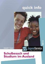 Broschüre zum Durchblättern - Jugendservice