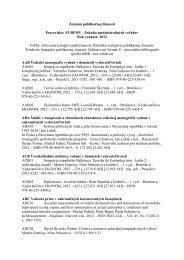 Publikácie 2012 - Fakulta medzinárodných vzťahov - Ekonomická ...