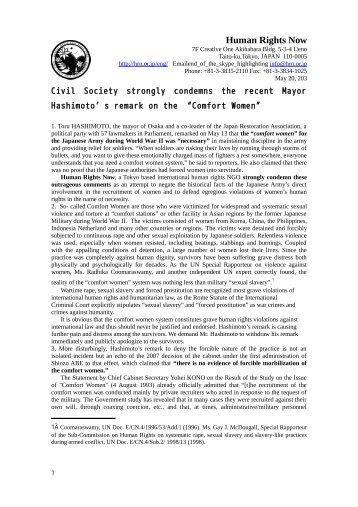 Comfort Women Statement English version.pdf