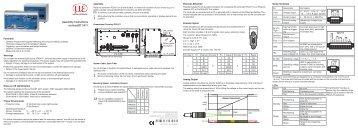 Assembly instructions confocalDT 2471 (PDF, 1.78 ... - Micro-Epsilon
