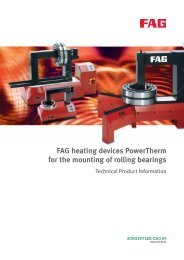 FAG heating devices PowerTherm for the mounting of rolling bearings