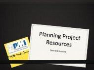 PMP PMI GDL - Chapter 7