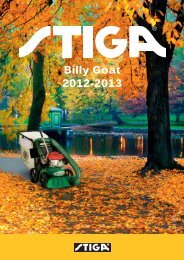 Billy Goat 2012-2013 - Stiga