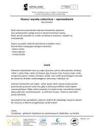 Pedagogiczne wskazówki dla nauczycieli zawodów kucharz i ...