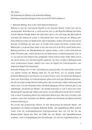 Vortrag von Max Fuchs - film>>up-Kongress
