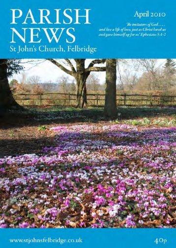 Sunday 18th April - St John's Felbridge
