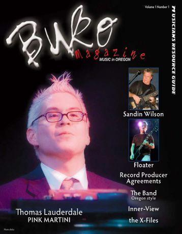 Thomas Lauderdale Thomas Lauderdale - Buko Magazine
