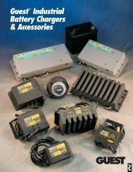 Guest® Industrial Battery Chargers & Accessories - Phase-A-Matic ...