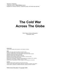 The Cold War Across The Globe - Series Review
